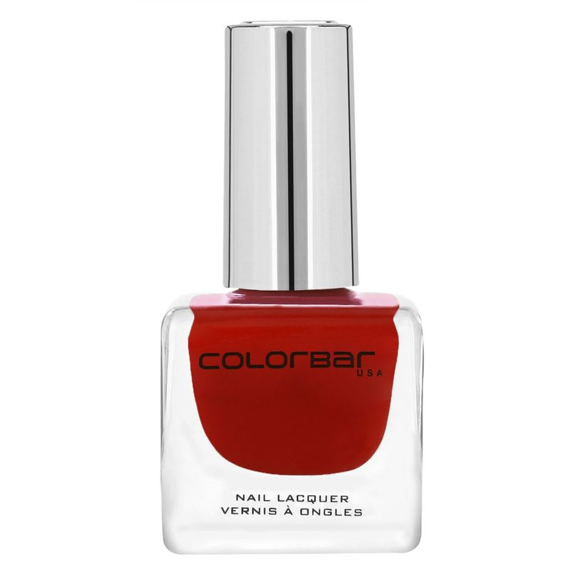 Colorbar Luxe Nail Lacquer - Flaming Red 046