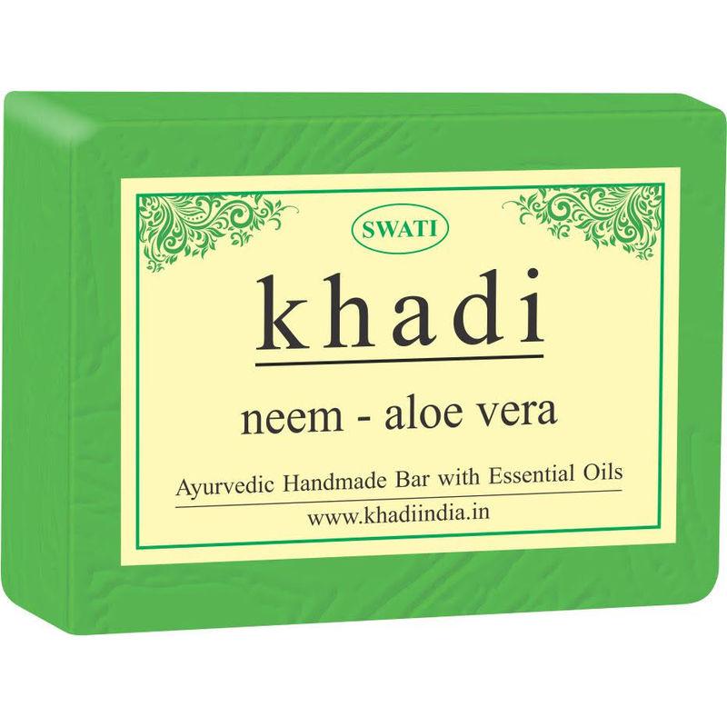 Swati Khadi Neem - Aloe Vera Soap