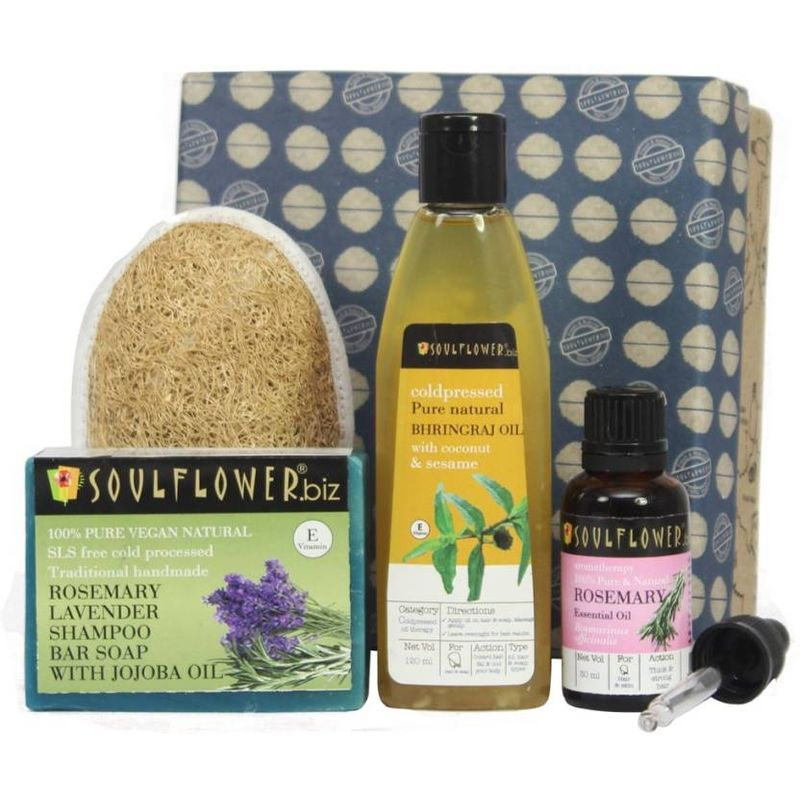 Soulflower Hair Growth & Hair Fall Control Try Me Set