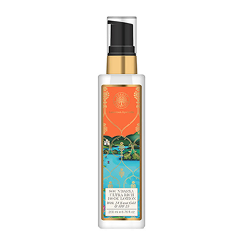 Forest Essentials Ultra Rich Body Lotion With 24 Karat Gold & SPF 25