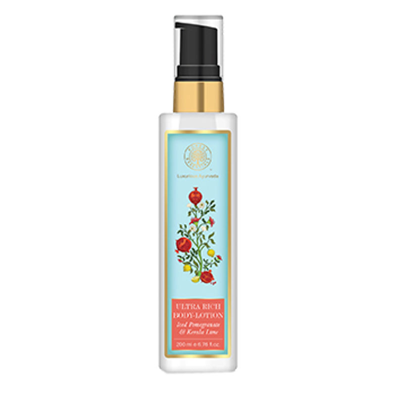 Forest Essentials Ultra Rich Body Lotion Iced Pomegranate With Fresh Kerala Lime
