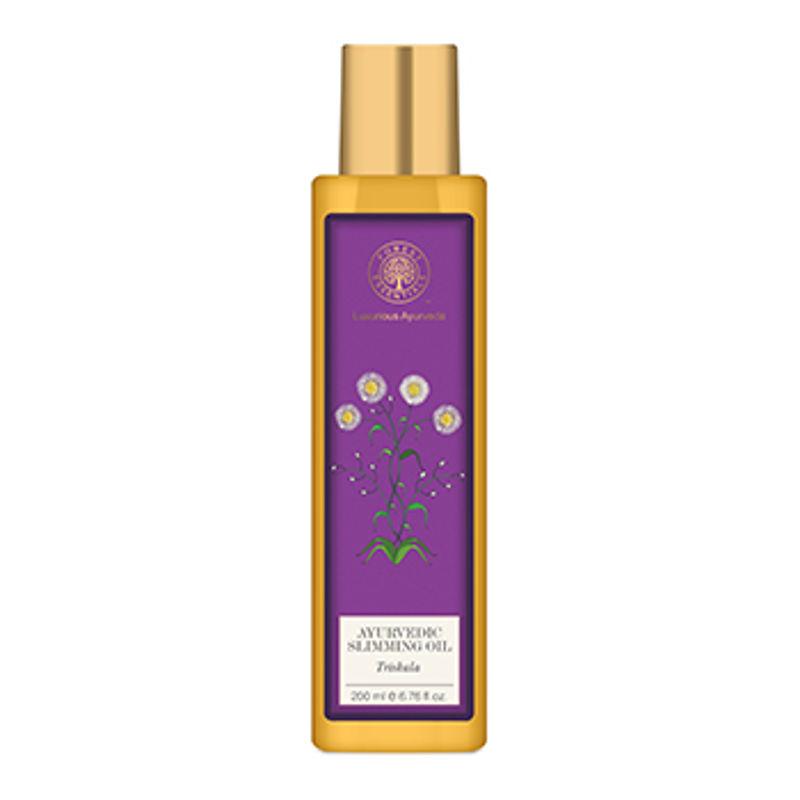 Forest Essentials Ayurvedic Body Massage Oil Trishala (Slimming Oil)
