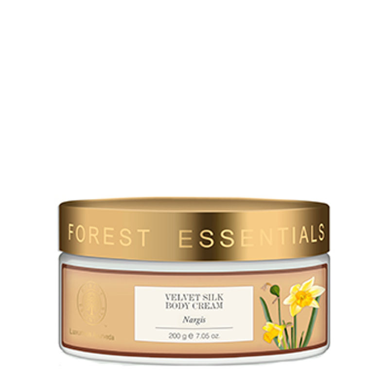 Forest Essentials Velvet Silk Body Cream Nargis