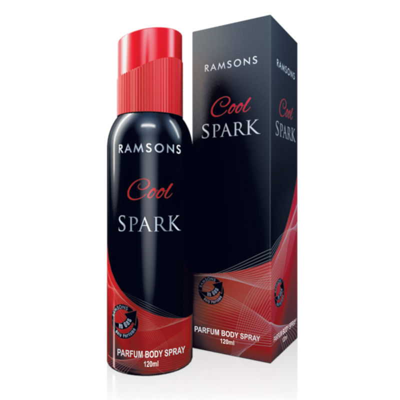 Ramsons Cool Spark Perfume Body Spray (No Gas)