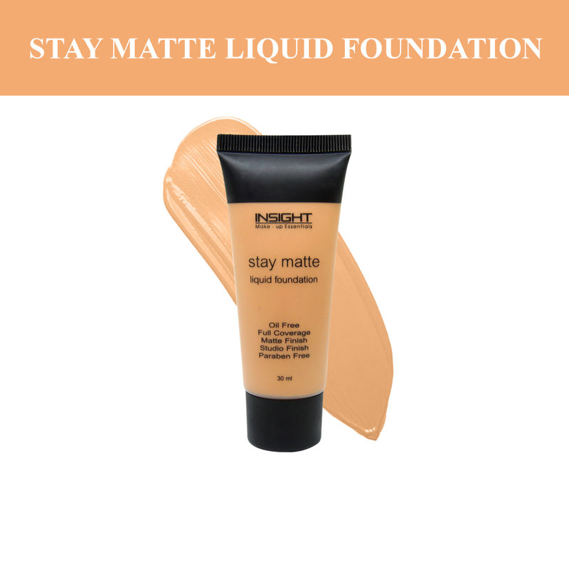 Insight Cosmetics Stay Matte Liquid Foundation