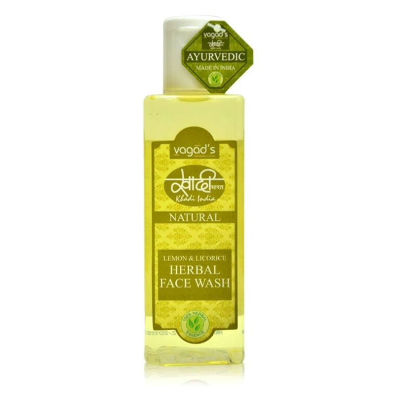 Vagad's Khadi Lemon & Licorice Herbal Face Wash