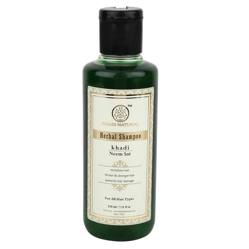 Khadi Natural Neem Sat Herbal Shampoo