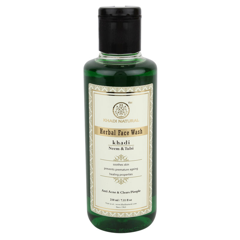 Khadi Natural Neem & Tulsi Herbal Face Wash