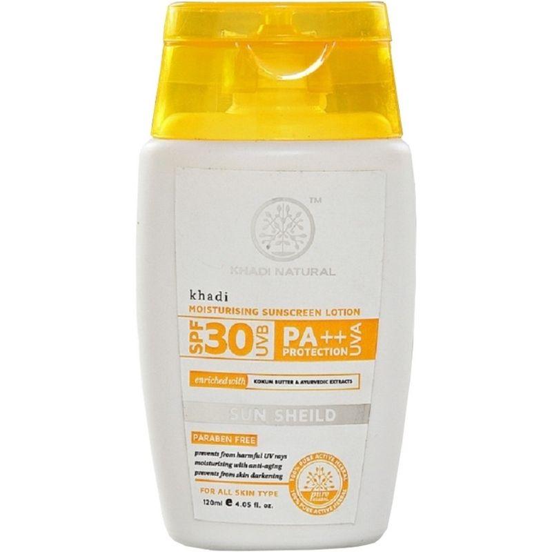 Khadi Natural Moisturising Sunscreen Lotion SPF 30 UVB PA++