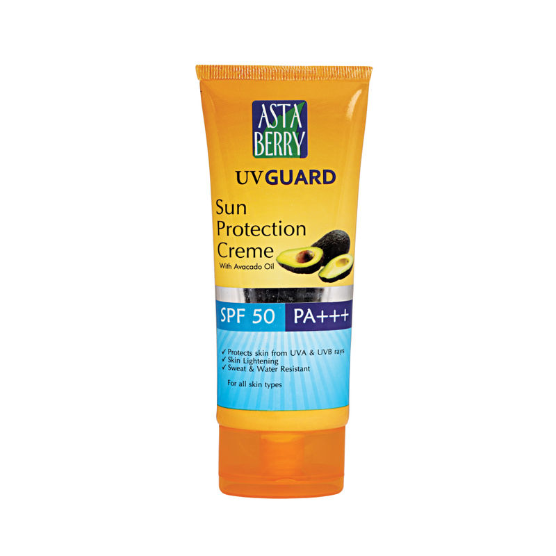 Astaberry UV Guard Sun Protection Cream SPF 50 PA+++ (100 Ml)