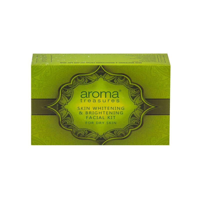 Aroma Treasure Skin Whitening And Brightening Facial Kit For Dry Skin