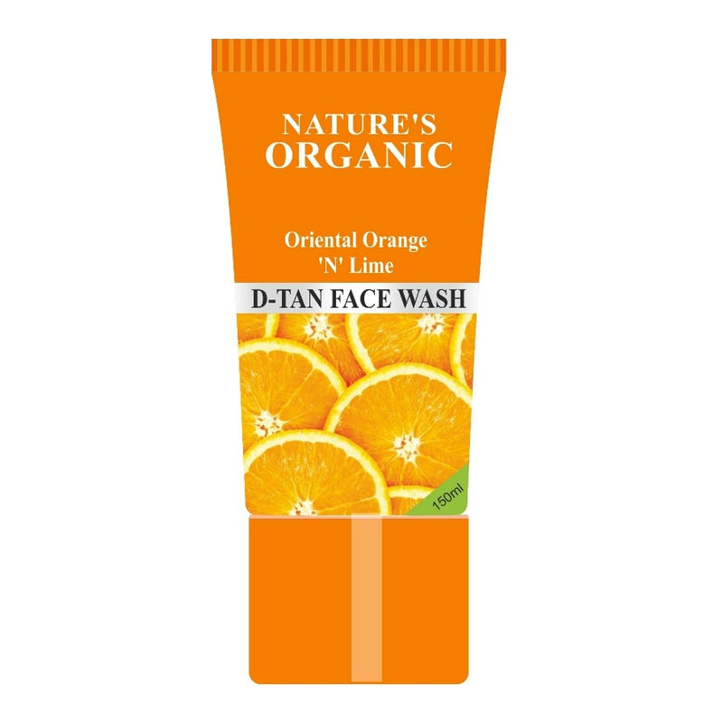 Nature's Essence Organic Oriental Orange 'N' Lime D-Tan Face Wash