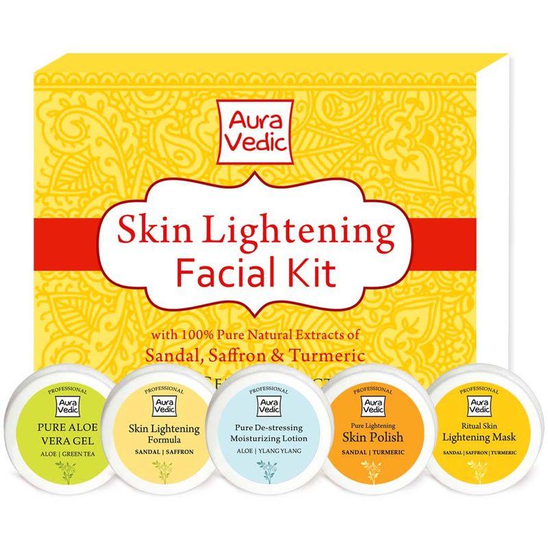 Auravedic Skin Lightening Facial Kit