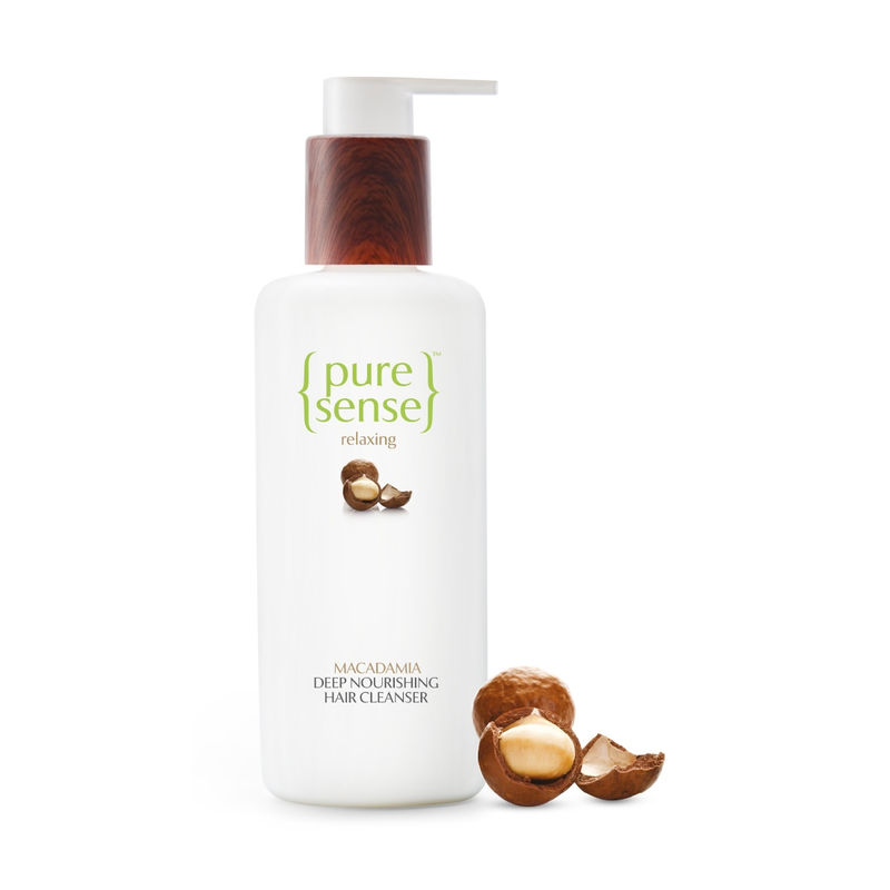 PureSense Macadamia Deep Nourishing Hair Cleanser - Sulphate And Paraben Free