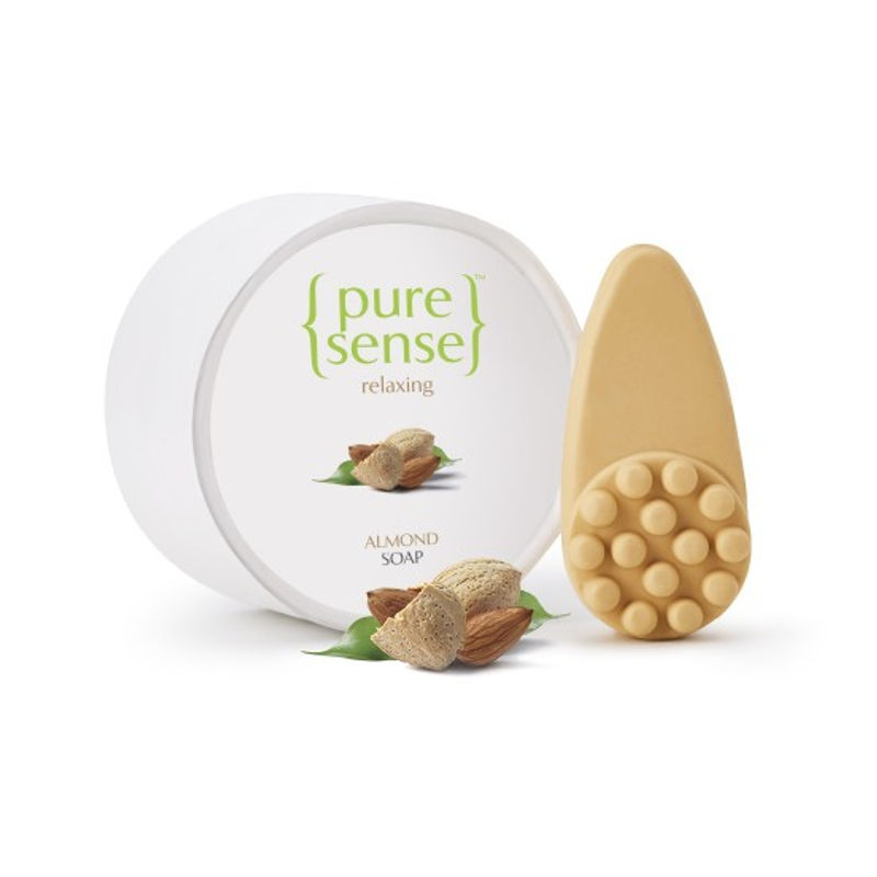 PureSense Relaxing Almond Soap - Sulphate And Paraben Free