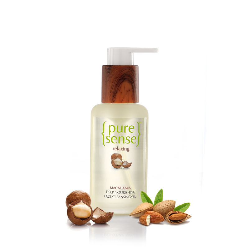 PureSense Macadamia Deep Nourishing Face Cleansing Oil - Sulphate And Paraben Free