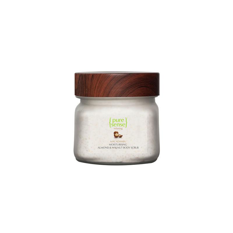 PureSense Moisturising Almond & Walnut Body Scrub - Sulphate & Paraben Free