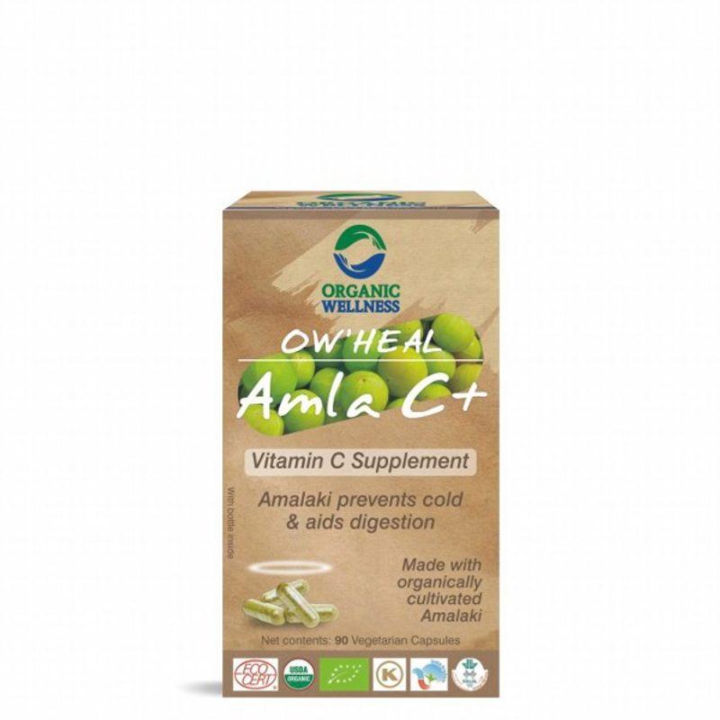 Organic Wellness Heal Amla C+ (Vitamin C Supplement)