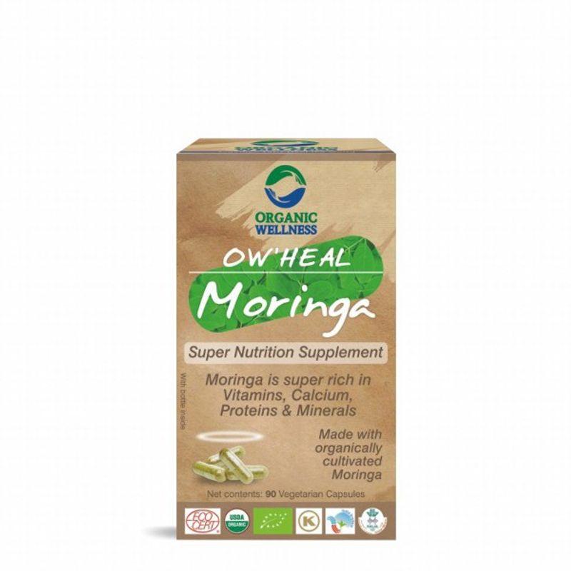 Organic Wellness Heal Moringa (Super Nutrition Supplement)