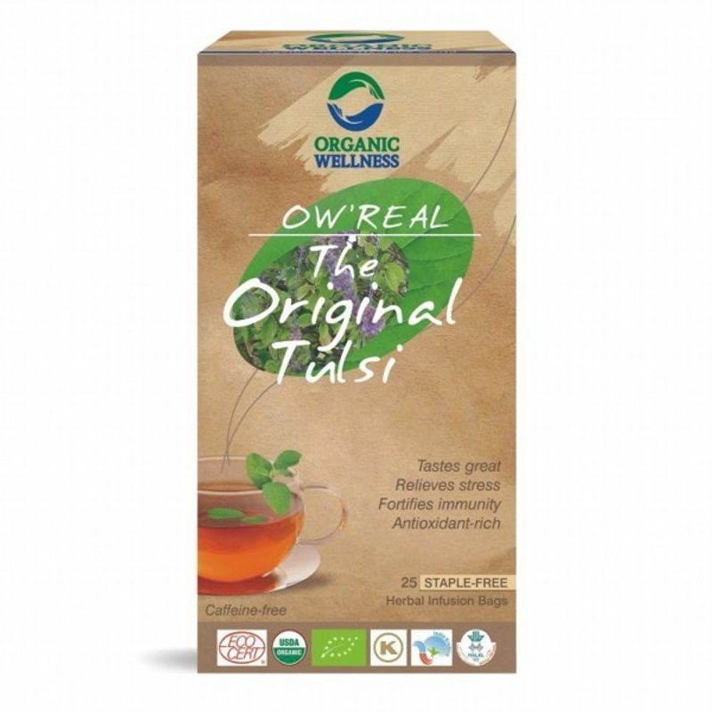 Organic Wellness Real The Original Tulsi Tea