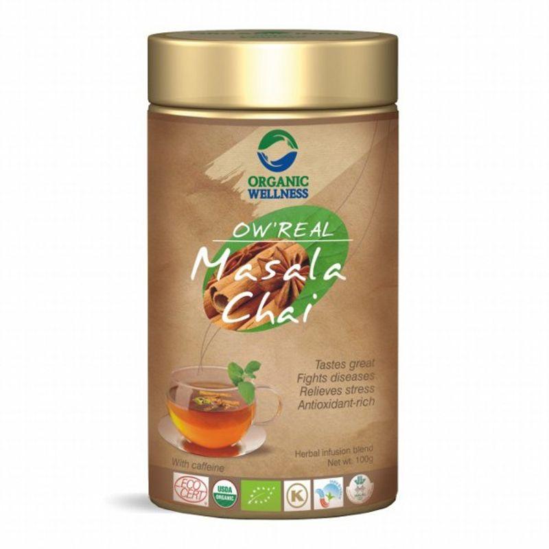 Organic Wellness Real Masala Chai Tin