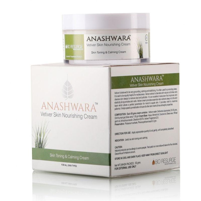 Bio Resurge Anashwara Vetiver Skin Nourishing Cream