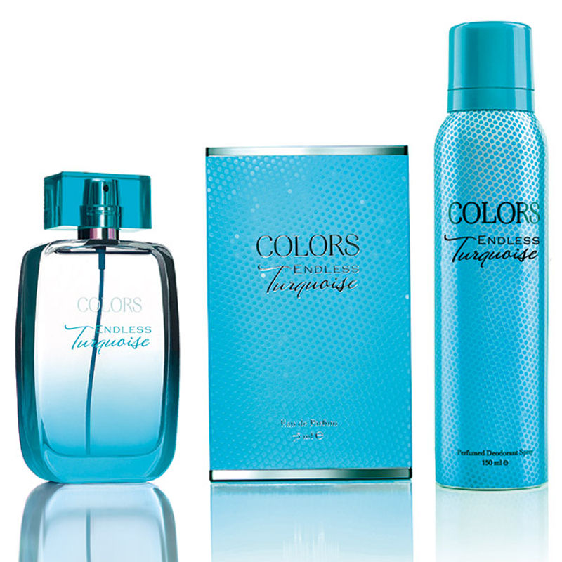 Rebul Colors Endless Turquoise Fragrance Set