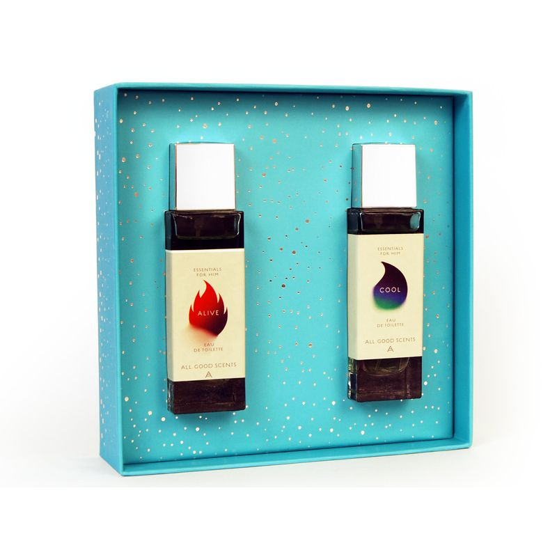 All Good Scents Chypre Duo Fragrance Set For Men