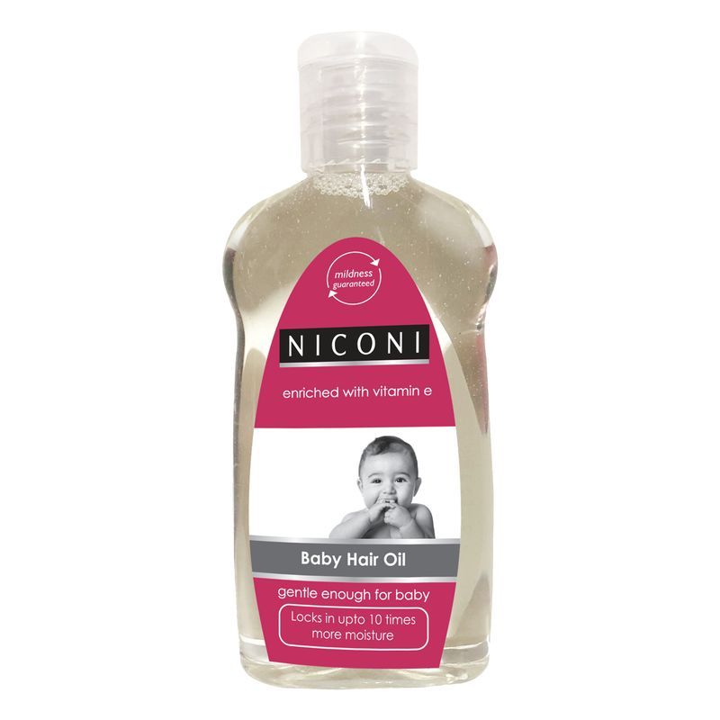 Niconi Conditioning Hair Oil For Babies Enriched With Vitamine E