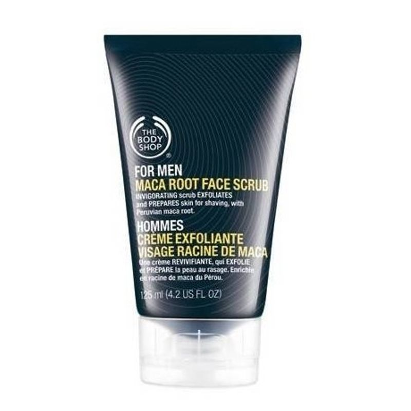 The Body Shop For Men Maca Root Face Scrub