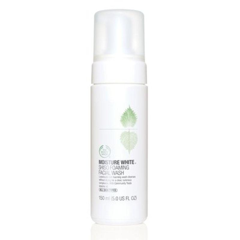 The Body Shop Moisture White Shiso Foaming Facial Wash