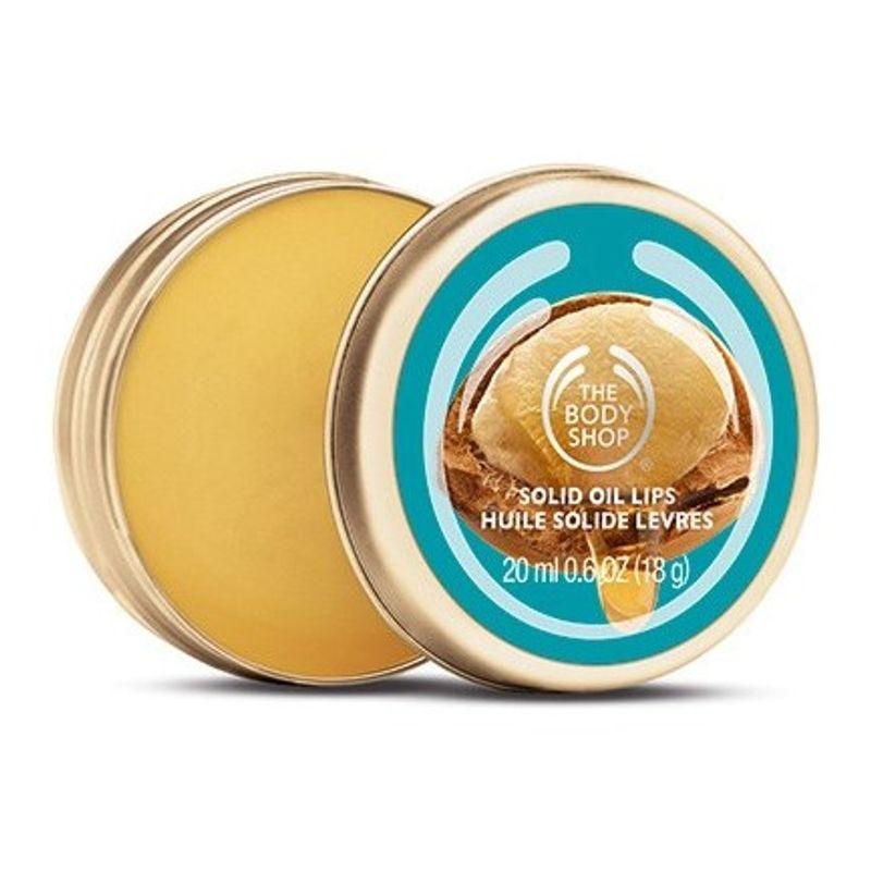 The Body Shop Wild Argan Oil Solid Oil Lip Balm