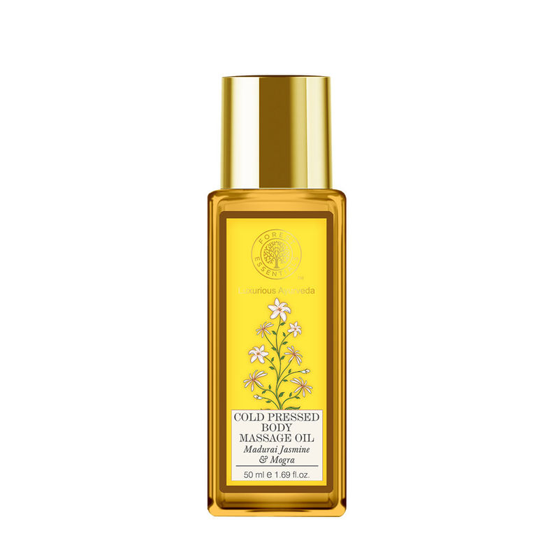 Forest Essentials Cold Pressed Body Massage Oil - Madurai Jasmine & Mogra