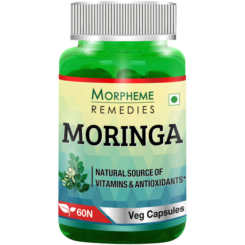 Morpheme Moringa 500mg Extract - 60 Veg Caps