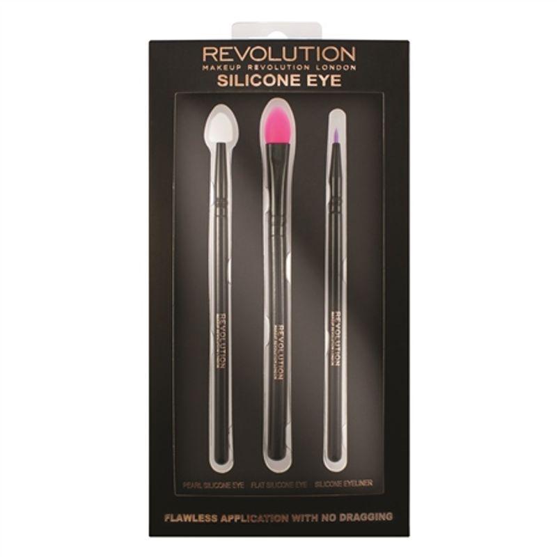 Makeup Revolution Silicone Eye Brush Set
