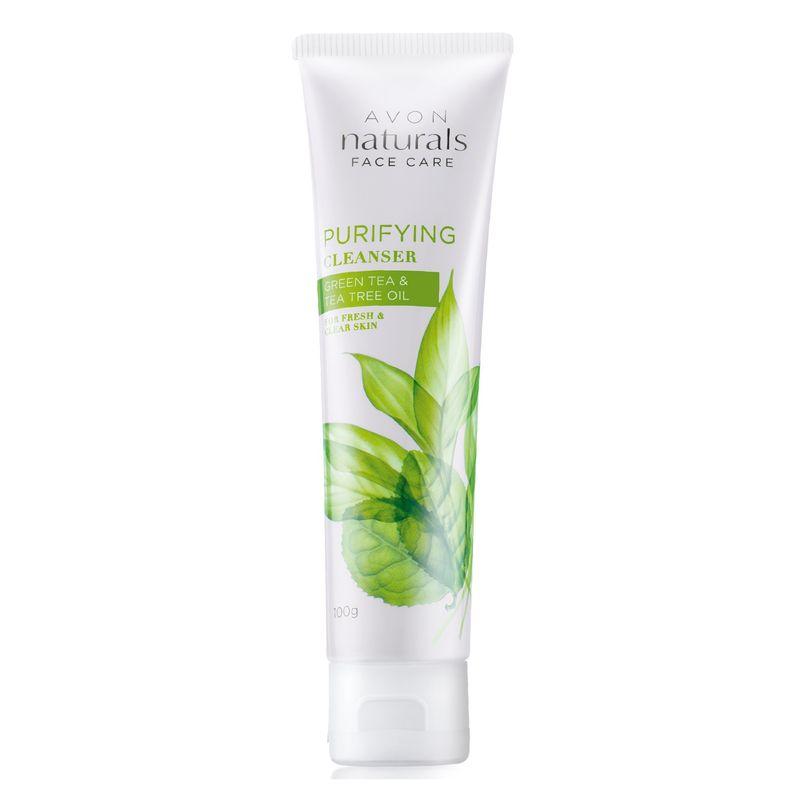 Avon Naturals Green Tea & Tea Tree Oil Purifying Cleanser