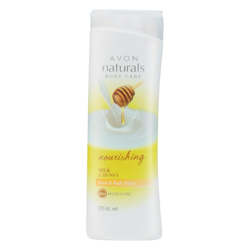 Avon Naturals Milk & Honey Hand Body Lotion