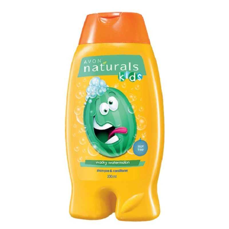Avon Naturals Kids Little Delights Wacky Watermelon 2-in-1 Hair Care