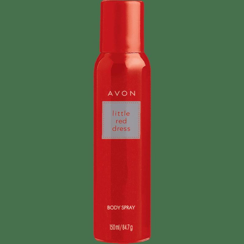 Avon Little Red Dress Body Spray