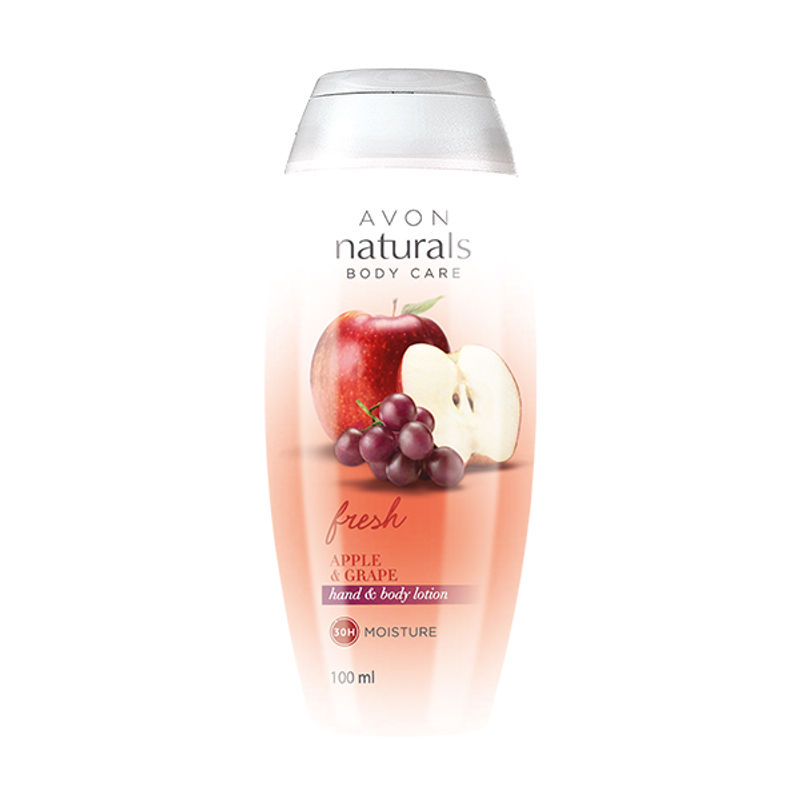 Avon Naturals Fresh Apple & Grape Hand & Body Lotion