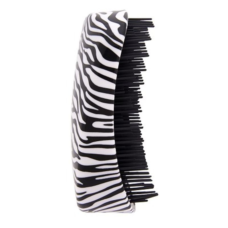 HairTronic Super Super Shaped Detangler - Zebra Print