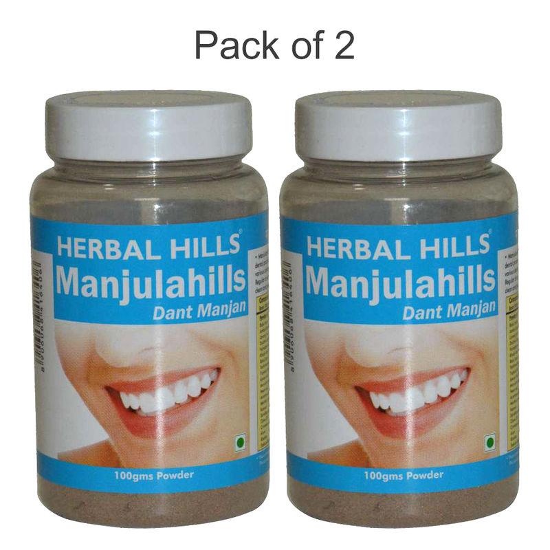 Herbal Hills Manjulahills Powder (Pack Of 2)