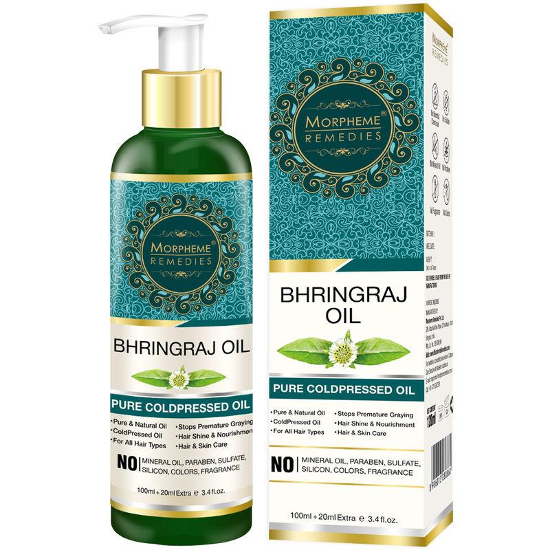 Morpheme Remedies Pure Coldpressed Bhringraj Hair Oil