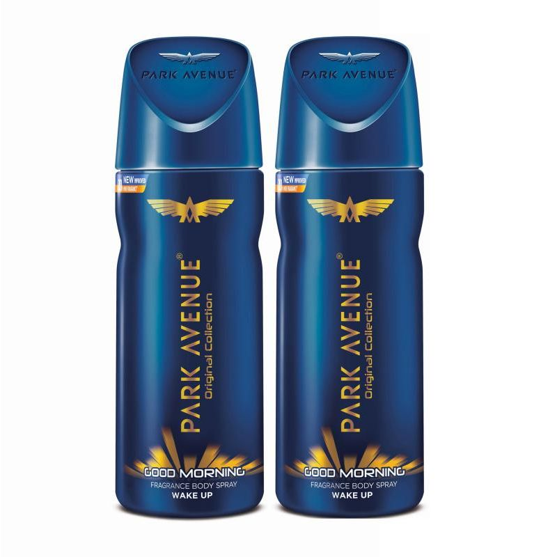 Park Avenue Men's Classic Deo Good Morning (Pack Of 2)