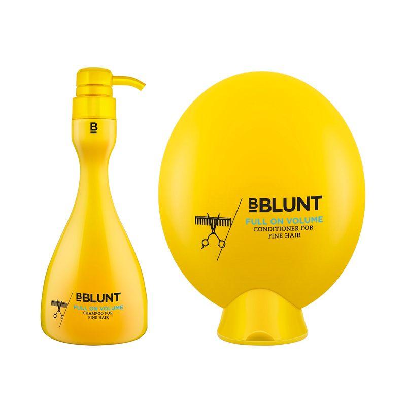 BBLUNT Full On Volume Shampoo + Conditioner, For Fine Hair