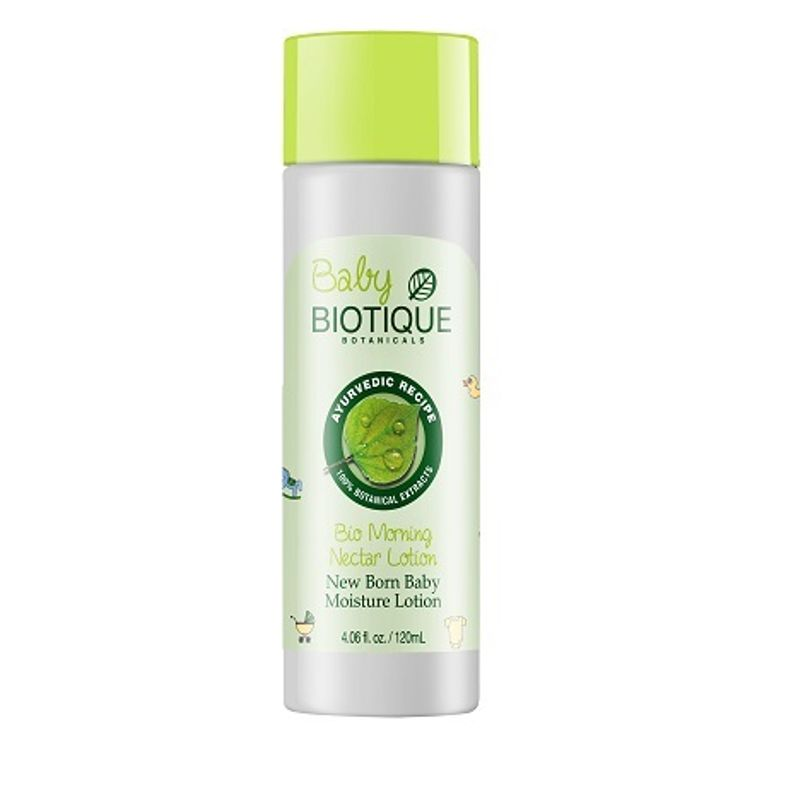 Biotique Bio Morning Nectar Newborn Baby Moisture Lotion