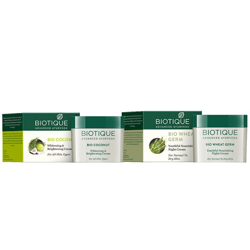 Biotique Skin Nourishing Day & Night Cream Combo