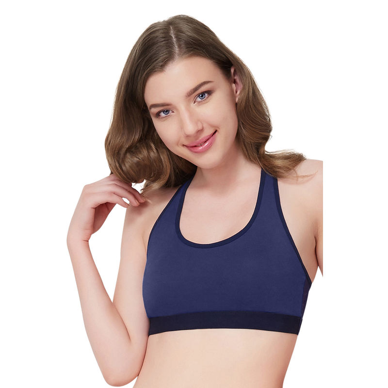 f1a2759b42 Amante Navy Bralette Fashion Bra (S) at Nykaa.com