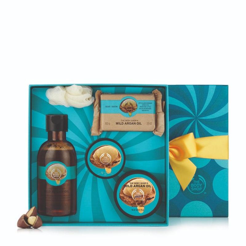 The Body Shop Gift Wild Argan Oil Collection