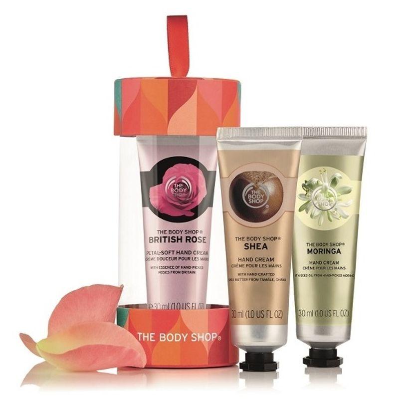 The Body Shop Gift Trio Hand Cream